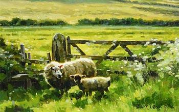Mark O'Neill, Summer Paddock (2020) at Morgan O'Driscoll Art Auctions