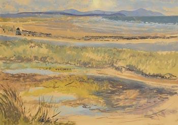 Bea Orpen, The Boyne at Mornington at Morgan O'Driscoll Art Auctions