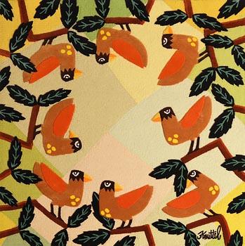 Graham Knuttel, Birds of Paradise at Morgan O'Driscoll Art Auctions