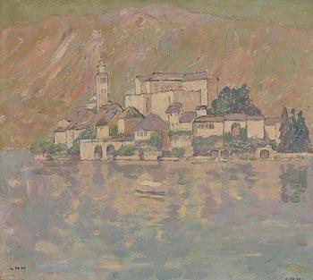 Letitia Marion Hamilton, Lake Garda at Morgan O'Driscoll Art Auctions