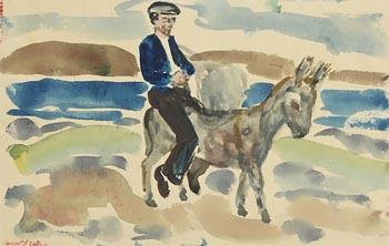 Gerard Dillon, Slow Passage at Morgan O'Driscoll Art Auctions