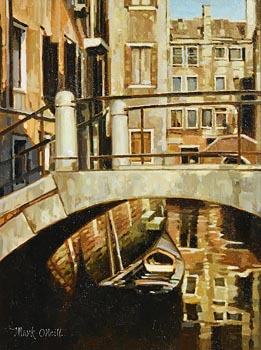 Mark O'Neill, Away From the Grand Canal at Morgan O'Driscoll Art Auctions