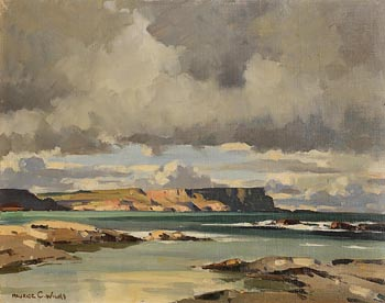 Maurice Canning Wilks, White Park Bay, Co. Antrim at Morgan O'Driscoll Art Auctions