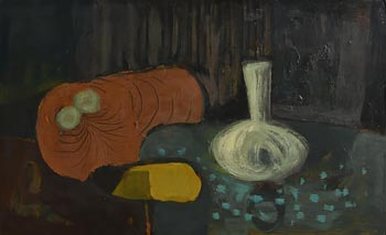 Arthur Armstrong, Blue Table at Morgan O'Driscoll Art Auctions