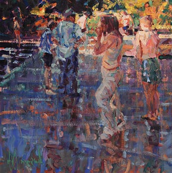 Arthur K. Maderson, From the Shadow, Lismore River Pool at Morgan O'Driscoll Art Auctions
