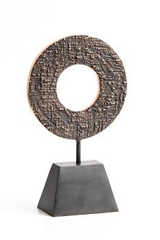 Michael Foley, Disco Strutturato (2021) at Morgan O'Driscoll Art Auctions