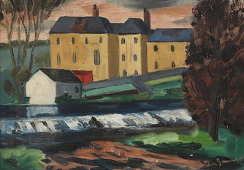 Norah Allison McGuinness, The Cotton Mill at Morgan O'Driscoll Art Auctions