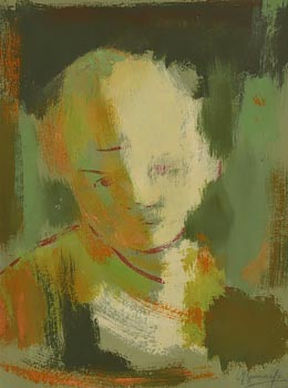 May Guinness, Portrait of a Child at Morgan O'Driscoll Art Auctions
