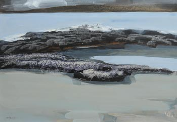 Arthur Armstrong, Stranded Rocks, Connemara at Morgan O'Driscoll Art Auctions