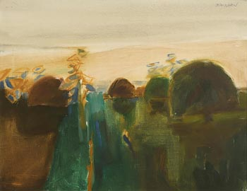 Basil Blackshaw, Park View at Morgan O'Driscoll Art Auctions
