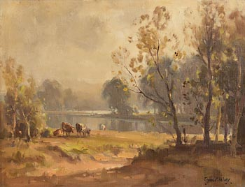 Frank McKelvey, River Bann at Morgan O'Driscoll Art Auctions