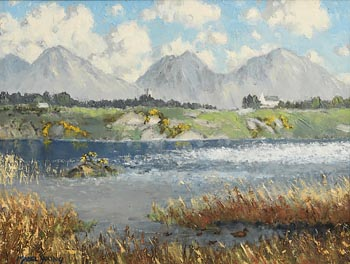 Mabel Florence Young, The Lake, Cregduff, Roundstone, Co. Galway at Morgan O'Driscoll Art Auctions
