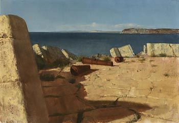 Patrick Hennessy, Abandoned Fort at Morgan O'Driscoll Art Auctions
