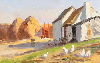 Ann Primrose Jury, A Co. Down Farmstead at Morgan O'Driscoll Art Auctions