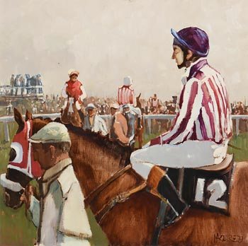 Cecil Maguire, In the Saddle, Galway (1979) at Morgan O'Driscoll Art Auctions
