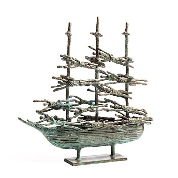 John Behan, Western Famine Ship (2020) at Morgan O'Driscoll Art Auctions