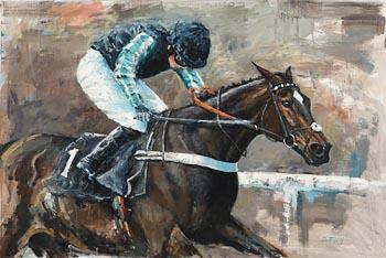 John Fitzgerald, Champion Chaser at Morgan O'Driscoll Art Auctions