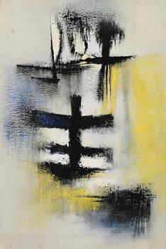 Kenneth Mahood, Grey Light (1959) at Morgan O'Driscoll Art Auctions