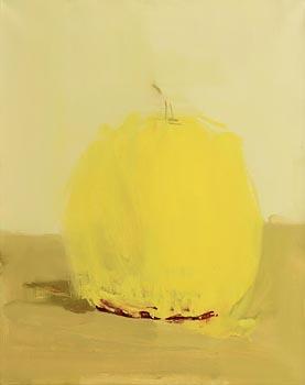 Pat Harris, Yellow Gourd (2001) at Morgan O'Driscoll Art Auctions