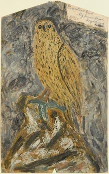 James Dixon, Greenland Owl, Tory Island (1966) at Morgan O'Driscoll Art Auctions