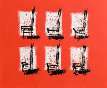 Neil Shawcross, Chairs, Still Life (2007) at Morgan O'Driscoll Art Auctions