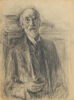 John Butler Yeats, Self Portrait (c.1919) at Morgan O'Driscoll Art Auctions