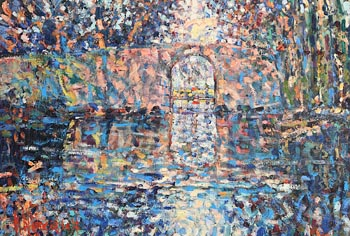 Arthur K. Maderson, Autumnal Evening, Le Canal du Midi, France at Morgan O'Driscoll Art Auctions