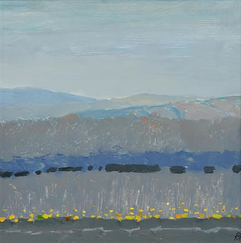 Colin Middleton, Long Mist (1974) at Morgan O'Driscoll Art Auctions