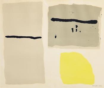 William Scott, Jura (1962) at Morgan O'Driscoll Art Auctions