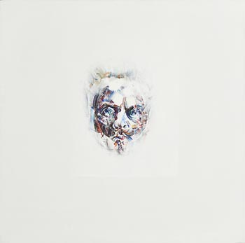 Louis Le Brocquy, Image of August Strindberg (1980) at Morgan O'Driscoll Art Auctions