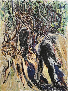 Patrick Swift, The Olive Pickers (c.1970) at Morgan O'Driscoll Art Auctions