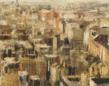 Colin Davidson, Looking Down on Abbey Street, Dublin (2004) at Morgan O'Driscoll Art Auctions