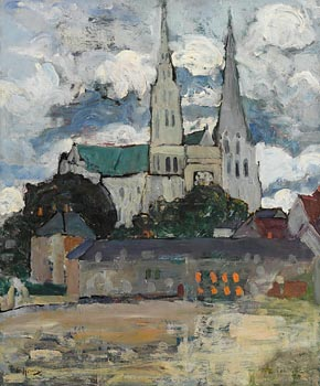 Grace Henry, Chartres Cathedral (c. 1930) at Morgan O'Driscoll Art Auctions