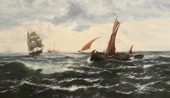 Thomas Rose Miles, Morning at the Nore at Morgan O'Driscoll Art Auctions