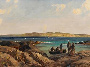 James Humbert Craig, Carrickfinn from the Mainland at Morgan O'Driscoll Art Auctions