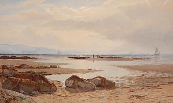 Anthony Carey Stannus, Ailsa Craig, Bristol Channel (1873) at Morgan O'Driscoll Art Auctions
