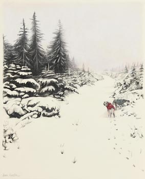 Diana Kingston, Wicklow Snow at Morgan O'Driscoll Art Auctions