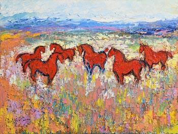 Declan O'Connor, Prairie at Morgan O'Driscoll Art Auctions