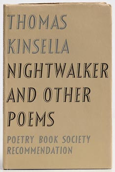 Thomas Kinsella, Nightwalker and Other Poems at Morgan O'Driscoll Art Auctions