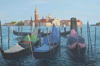 John Turner, Venice (1989) at Morgan O'Driscoll Art Auctions