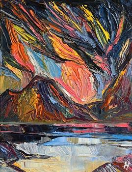 Douglas Hutton, Sunrise...... West at Morgan O'Driscoll Art Auctions