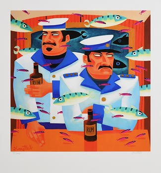 Graham Knuttel, Double Vision at Morgan O'Driscoll Art Auctions