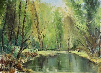 Norman J. McCaig, Reflections at Morgan O'Driscoll Art Auctions