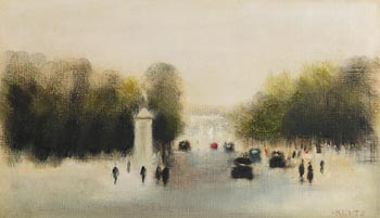 Anthony Robert Klitz, The Mall, London at Morgan O'Driscoll Art Auctions