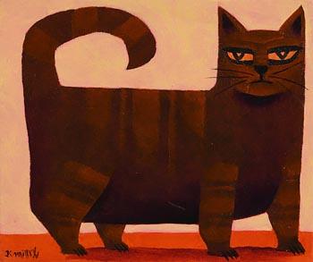 Graham Knuttel, Fluffy at Morgan O'Driscoll Art Auctions