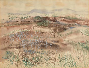 George Campbell, Winter Landscape near Cordoba No.19 at Morgan O'Driscoll Art Auctions