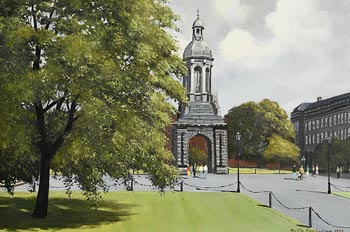 Neville Henderson, Trinity College (1990) at Morgan O'Driscoll Art Auctions