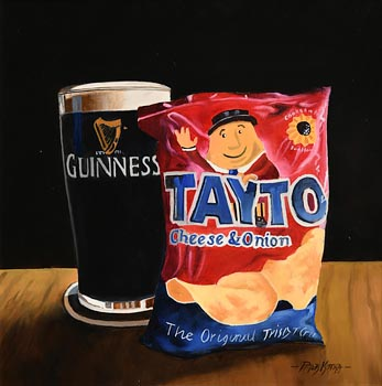 Peter Kotka, Guinness and Crisps at Morgan O'Driscoll Art Auctions