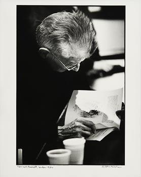 John Minihan, Samuel Beckett, London (1984) at Morgan O'Driscoll Art Auctions