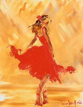 Louise Mansfield, Ballet in Red at Morgan O'Driscoll Art Auctions